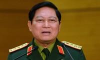 El ministro de Defensa vietnamita visita Myanmar