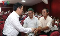 Vice primer ministro vietnamita se reúne con los electores de provincia central