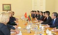 Vicepresidenta vietnamita promete ofrecer condiciones favorables a los inversores lituanos