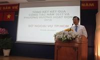 Ciudad Ho Chi Minh logra grandes éxitos en la diplomacia durante 2017