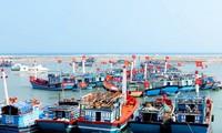 Pescadores de la isla de Ly Son reanudan actividades laborales en el mar