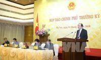Rueda de prensa sobre los resultados de la reunión gubernamental ordinaria de febrero