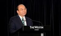 Primer ministro vietnamita valora el avance de la cooperación empresarial Vietnam-Australia