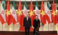 Vietnam e Irán decididos a aumentar el comercio bilateral a 2 mil millones de dólares