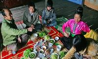 La ancestral invocación a los muertos en las comidas de los Thai