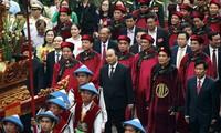 Recuerdan en Vietnam los méritos de los reyes Hung, fundadores del país