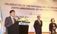 Celebran en Hanói el 208 aniversario de la Revolución de Mayo y el Día Nacional de Argentina