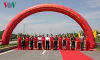 Inauguran obra de transporte construida con asistencias no reembolsables australianas