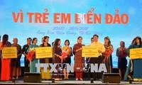 Destacan el significado del programa de asistencia a los niños vietnamitas en islas