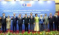 Resaltan progreso de las relaciones de asociación estratégica entre Asean y China