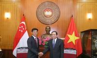 Exaltan el buen desarrollo de los nexos entre Vietnam y Singapur