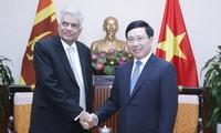 Vietnam y Sri Lanka buscan fortalecer nexos de cooperación
