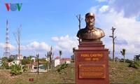 La gente de Quang Tri lleva a Fidel en sus corazones