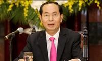 Países latinoamericanos expresan solidaridad con Vietnam por la muerte de su presidente