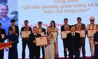 Entregan Premio de Innovación a jóvenes vietnamitas
