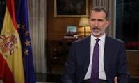 El Rey Felipe VI insta a los españoles a garantizar la convivencia