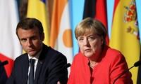 Líderes de Francia y Alemania piden acatamiento de una tregua plena en Ucrania