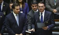 Jair Bolsonaro se juramenta como nuevo presidente de Brasil