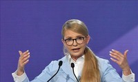 Yulia Tymoshenko, candidata a la presidencia de Ucrania