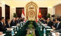 Vietnam y Singapur promueven la asociación estratégica