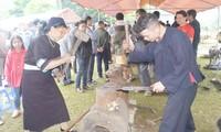 La tradicional herrería del grupo étnico Nung An en  Cao Bang