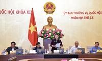 Clausuran la 33 reunión del Comité Permanente del Parlamento vietnamita