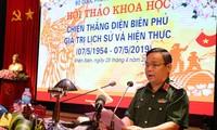 Seminario científico enaltece los valores de la victoria de la campaña de Dien Bien Phu