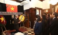 Rinden homenaje póstumo al expresidente Le Duc Anh en Argentina y México