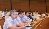 Legisladores vietnamitas debaten proyectos de ley de Auditoría (enmendada) y de Biblioteca