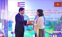 Ninh Binh aspira a promover cooperación con localidades de Cuba