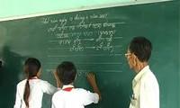 La etnia Cham conserva su escritura