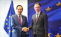 Ministro de Trabajo, Inválidos de Guerra y Asuntos Sociales de Vietnam realiza visita de trabajo a Bélgica