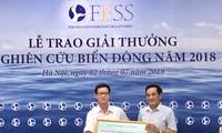 Honran las obras investigativas y periodísticas más destacadas sobre el Mar Oriental en 2018