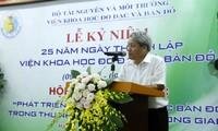 Urgen mayor avance del Instituto de Geodesia y Cartografía de Vietnam