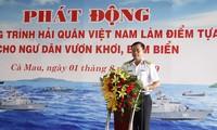 Fuerzas navales en Da Nang apoyan a pescadores en defensa de la Patria