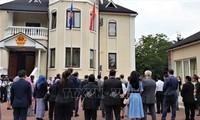Embajada vietnamita en Ucrania celebra el izamiento de la bandera de la Asean