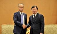 Ratifican interés de Vietnam en afianzar cooperación económica con Japón
