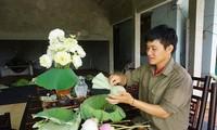 Le Son Hai, joven emprendedor en la producción del té orgánico