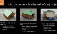 Proyecto de casas antinundaciones en Vietnam surte efecto en el centro