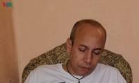 Un egipcio que ama al presidente Ho Chi Minh