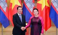 Líder del Parlamento vietnamita se reúne con el primer ministro camboyano