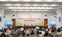 Informan sobre la agenda del VIII período de sesiones del Parlamento de Vietnam