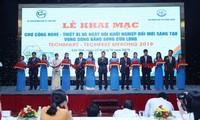 Inauguran jornada de tecnología y emprendimiento en delta del río Mekong