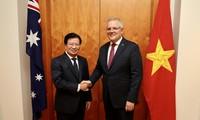 Prosiguen actividades del vicepremier vietnamita en Australia