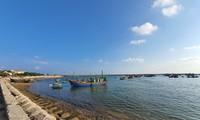 Isla de Bach Long Vy por dinamizar la logística pesquera