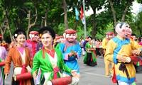 Primer festival de cultura folclórica en la vida contemporánea en Hanói