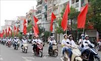 Celebran un mitin por la lucha contra el VIH/SIDA en Bac Giang
