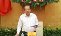 Vicepremier vietnamita se reúne con líderes de Camboya