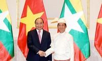 Primer ministro vietnamita concluye visita a Myanmar