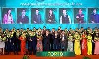 Distinguen a jóvenes emprendedores más sobresalientes de Vietnam en 2019